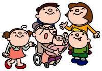 障がい児者も高齢の方ものイメージ